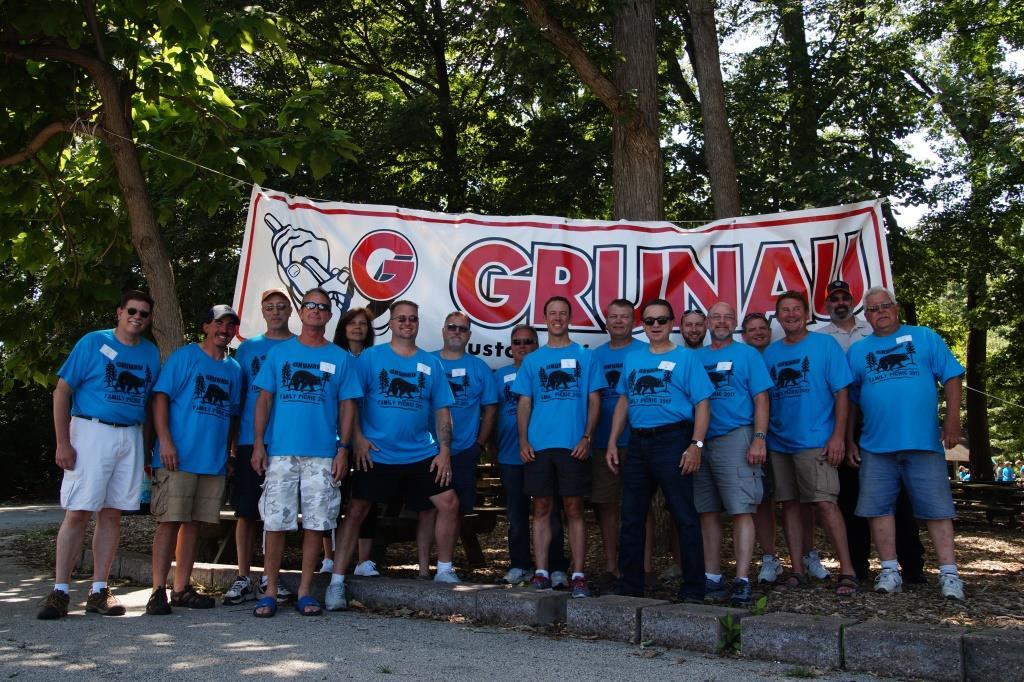 Grunau Celebrates Employees