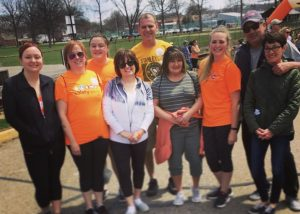 Fundraising by Grunau for Walk MS