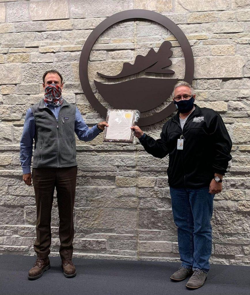 Grunau receives mayoral proclamation